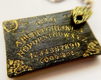 New color! Ouija board and planchette keychain