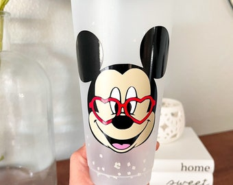 Clear Mickey Valentine Cold Cup