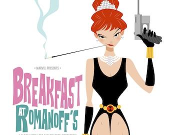 Breakfast at Romanoff's print