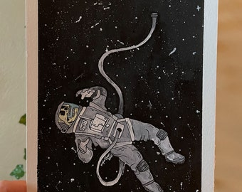 Space Makes Me Sad Fine Art Print