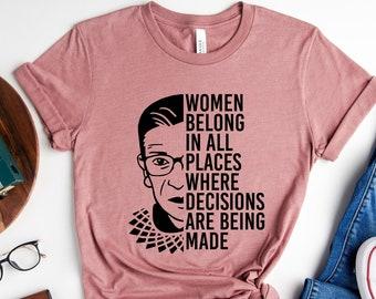 Notorious RBG, Notorious RBG Shirt, RGB shirt, Ruth Bader Ginsburg Shirt, R.G.B Shirt, I Dissent, Notorious Ruth Bader Ginsberg, Feminism