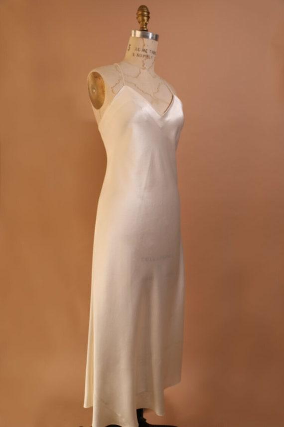 Vintage Silk Slip Gown