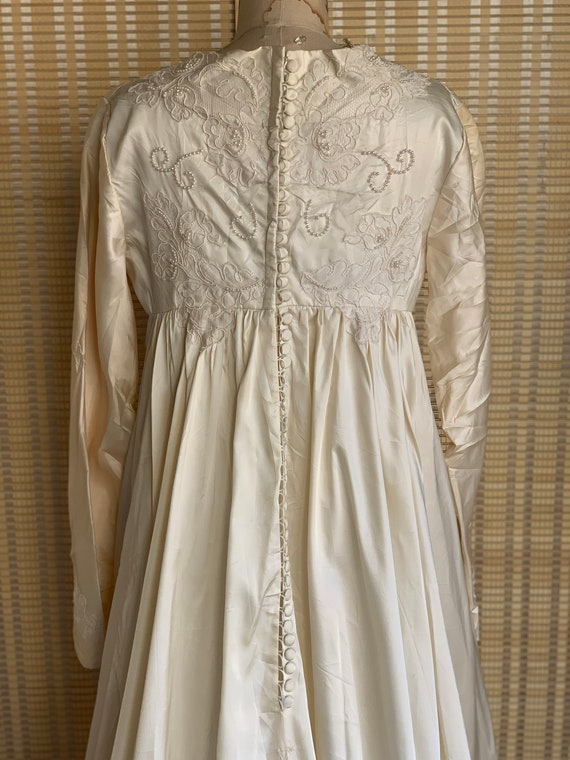 Edwardian Gothic wedding dress