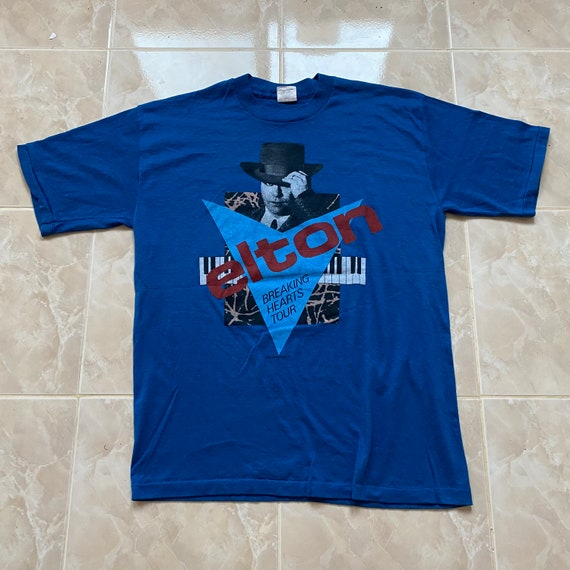 Vintage 80s Elton John - Breaking Hearts Tour 1984
