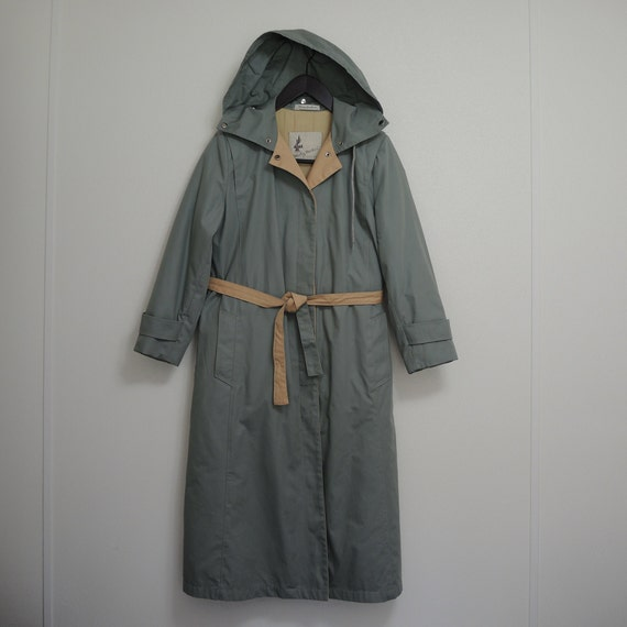 Vintage Misty Harbor Lined & Insulated Trench Coat