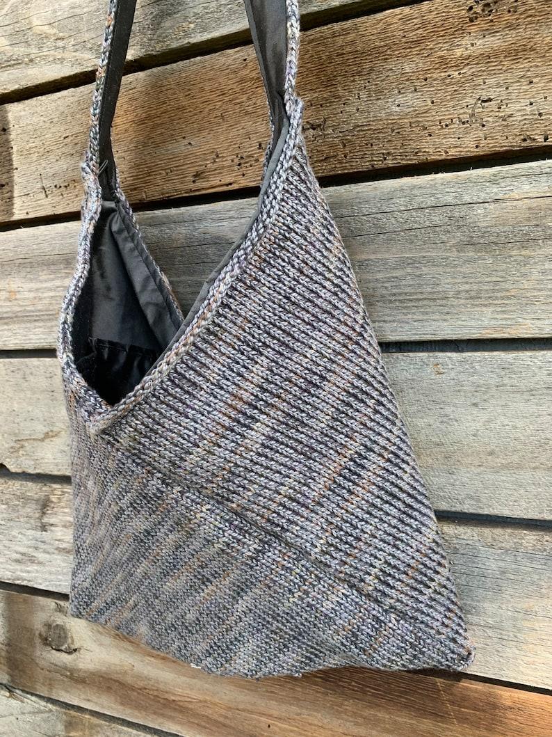 Origami Knit Bag