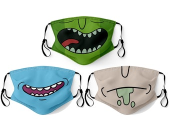 Face Mask Made in USA Adult & Youth Filter Pocket Nose Wire Washable Breathable Elastic Ear Loop Birthday Anniversary Gift Christmas