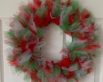 Tulle Wreath Etsy