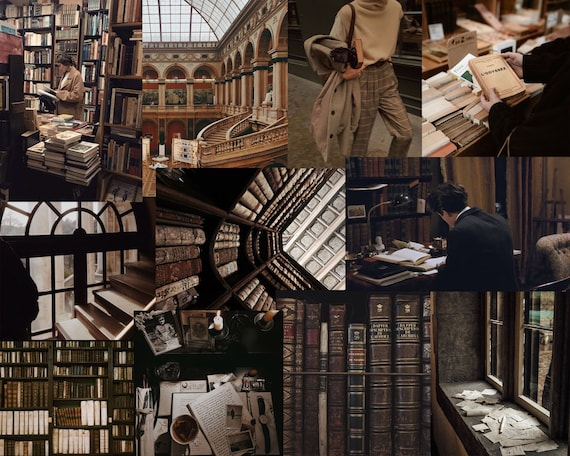 Image result for dark academia collage