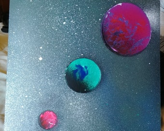 Trio of Bright Planets - an experimental piece