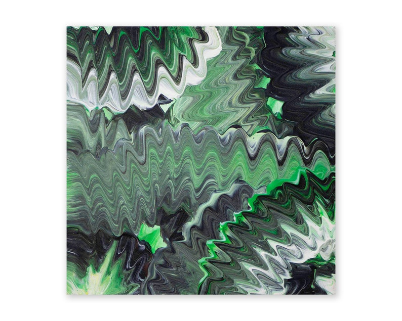 Laced 2016 20cm x 20cm acrylic on canvas Original Handmade image 0