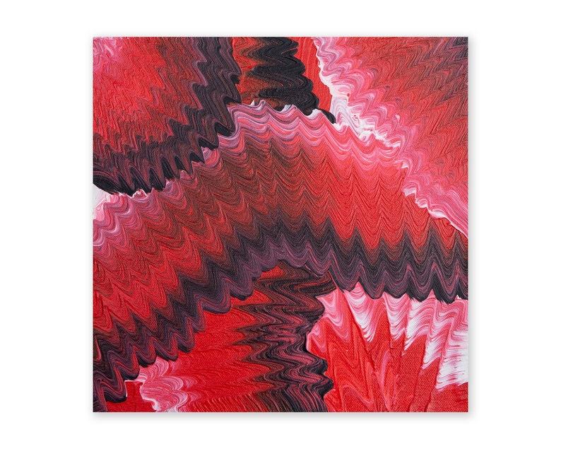 VIPP 2020 25cm x 25cm acrylic on canvas Original Handmade image 0