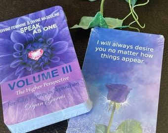 Twin Flame Deck - Volume III - Divine Feminine & Divine Masculine Speak as ONE: The Higher Perspective