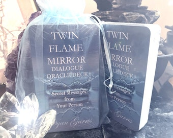Twin Flame Mirror Dialogue Oracle Deck