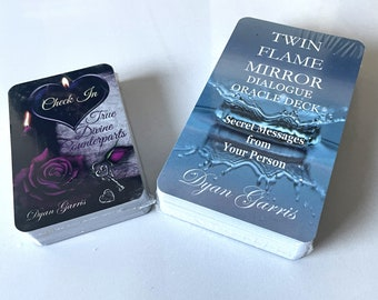 BUNDLE: True Divine Counterparts Check-In and Twin Flame Mirror Deck