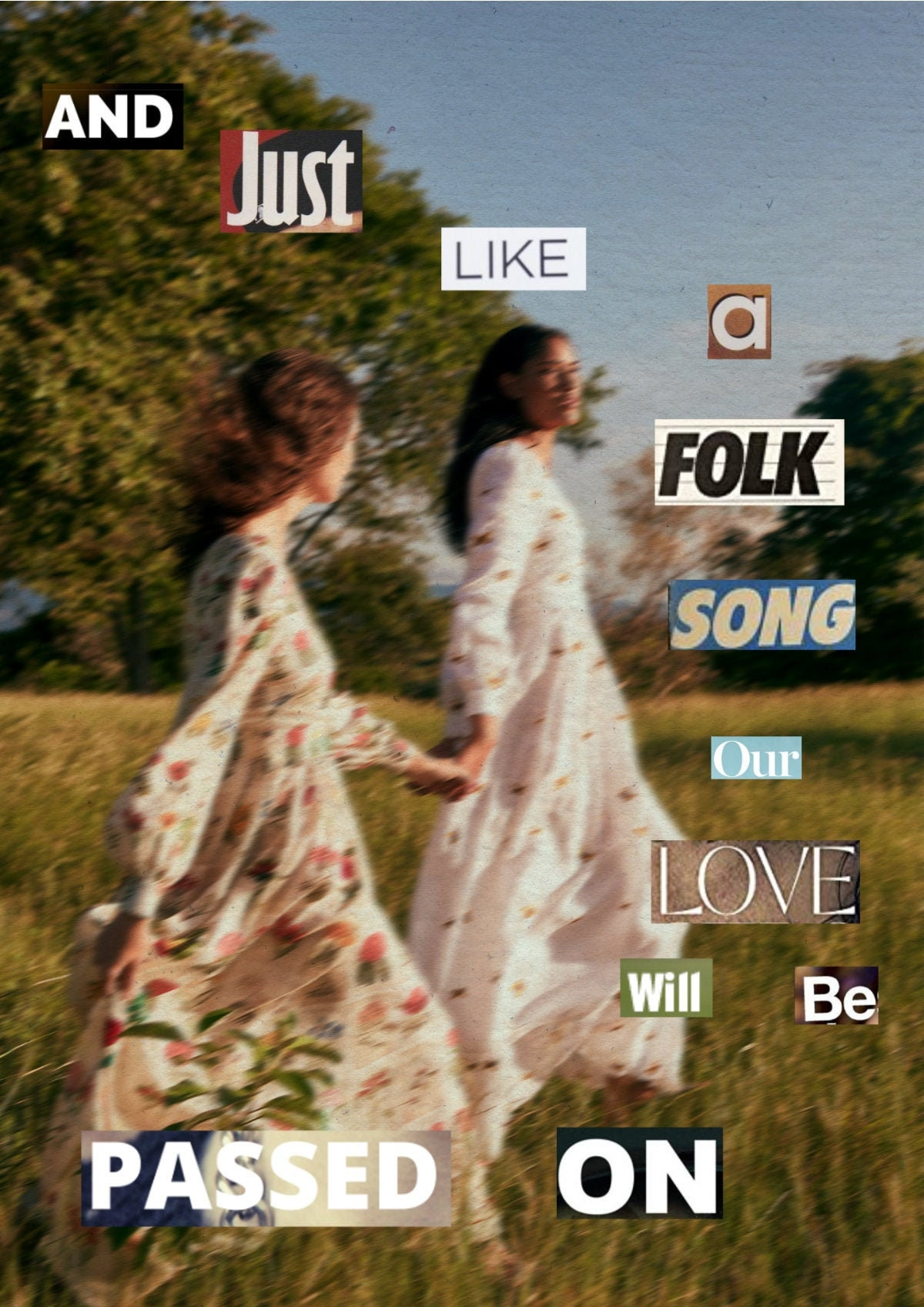 Taylor Swift Folklore Lyrics Seven Print