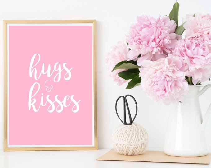 Hugs & Kisses Printable Download