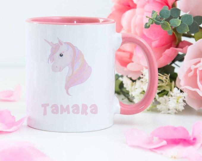 Personalised Unicorn Design Coffee Mug