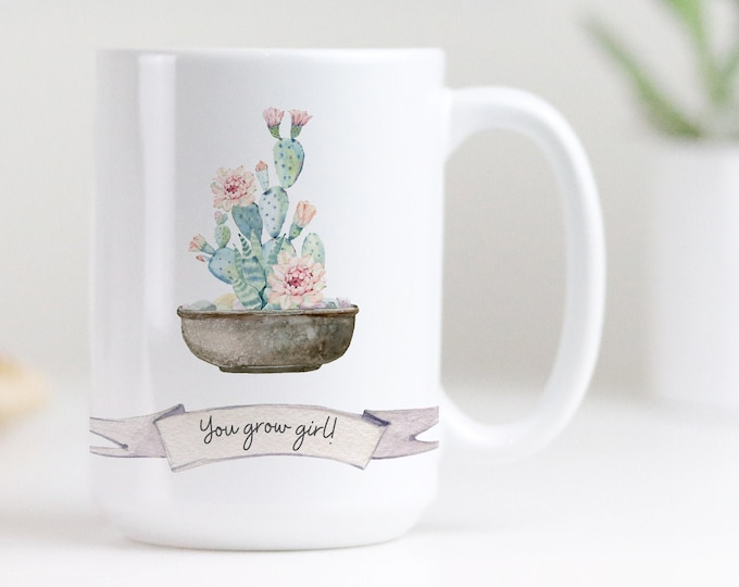 Customizable Text Mug, Plant Lady Mug, House Plant Lover