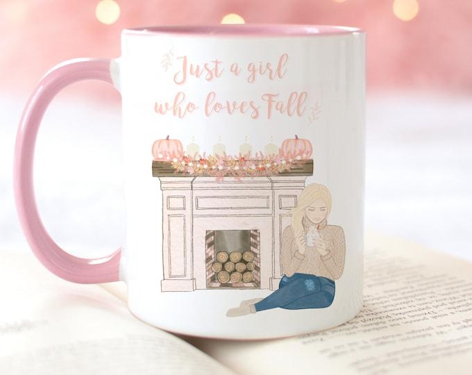 Just A Girl Who Loves Fall Mug
