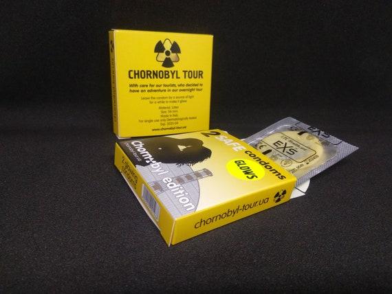 Funny Gift Gloving Condoms Chernobyl Edition