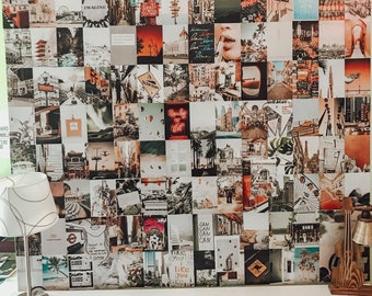 BeYumi 50PCS Black White Aesthetic Picture for Wall Collage 50 Set 4x6 inch Room Decor for Girls Dorm Photo Display Vintage Wall Art Prints for Room Chic Collage Print Kit VSCO Posters for Bar
