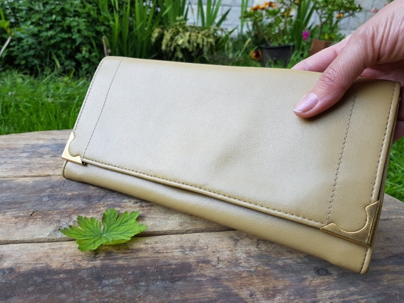 Vintage Envelope Bag / Clutch Bag / Pouch Bag / Ev