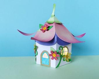 Fairy House Box SVG