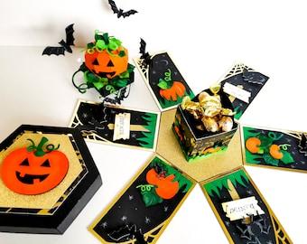 Pumpkin Exploding Box