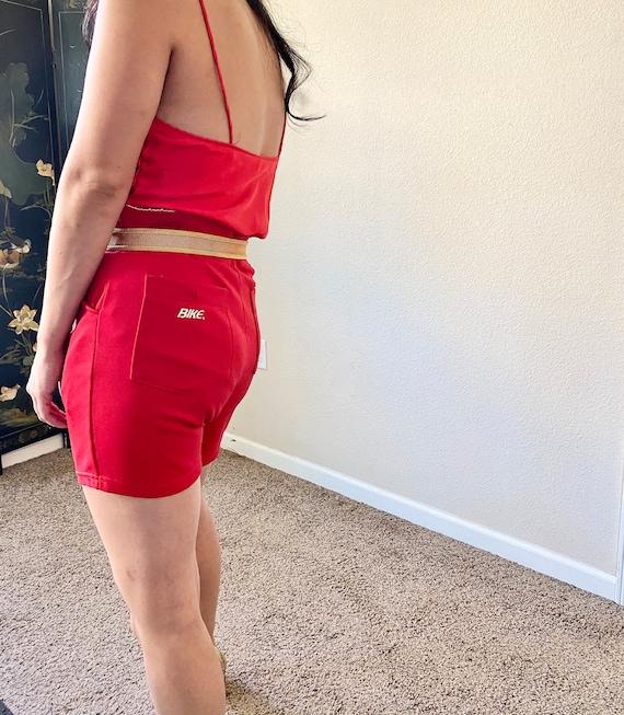Vintage Spandex Athletic Athleisure BIKE Shorts