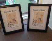 Handmade Breastfeeding Milestone Frames personalised to show your special picture and your incredible achievement.