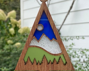 Comfort and Joy Ornaments  |  PNW Ornaments  |  Mountain Escape | Handmade Holiday Gift
