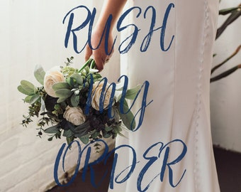 RUSH MY ORDER -- Rush Processing -- Do Not Buy Without Contacting Me