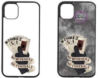 Six of Crows iPhone case  No mourners No Funerals    iPhone 12/10/11/8/7 case  