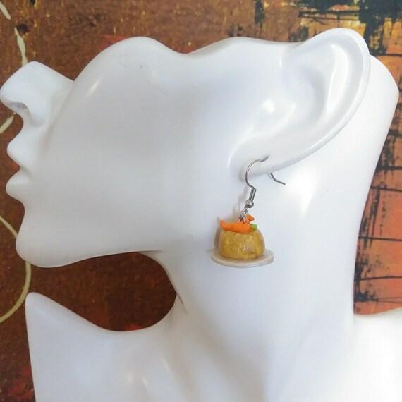 Handmade Polymer Clay Rican Jewelry Puerto Rico Food Earrings Sorullitos Boricua Kitchen