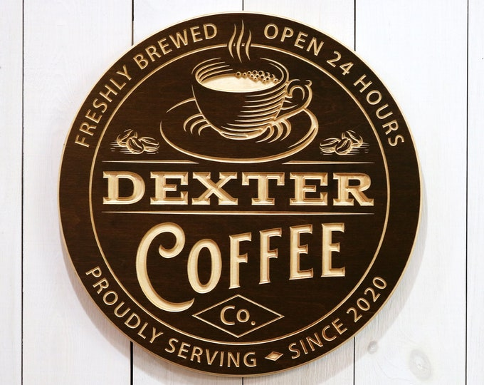 Personalized Coffee Bar Sign