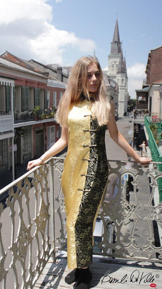 Cheongsam Vintage Dress