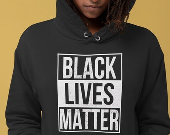 Black Lives Matter Sweat /à Capuche