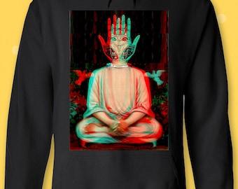 Buddha Third Eye Psychedelic Hipster Men/'s Vest Tank Top
