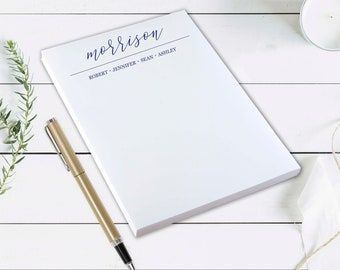 Personalised Stationary Gifts Idea DESIGN YOUR OWN notepad entirely Custom Notepad Gift for her A5 New Job gift