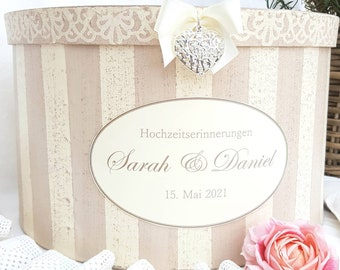 Wedding box, gift box, storage, memory box, wedding gift