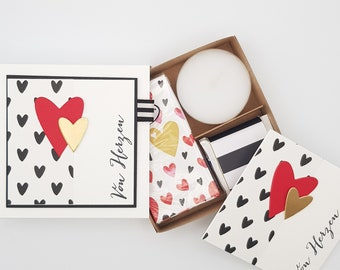 Gift box, voucher packaging, Mother's Day, From the heart