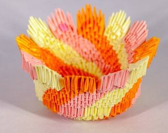 How to make a 3D origami bowl: page 9 | 270x340