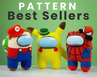 BEST SELLER Crochet Amigurumi Patterns [Astronaut Style]