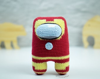 Iron Amigurumi Pattern [Astronaut Style] Crochet Pattern PDF File