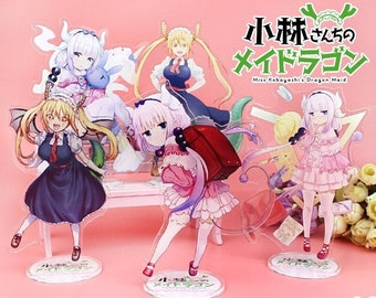 Miss Kobayashi's Dragon Maid Acrylic Standee High Quality Charms Mobile Game Anime Kanna Kamui Quetzalcoatl Tohru Ilulu Fafnir Elma Shouta