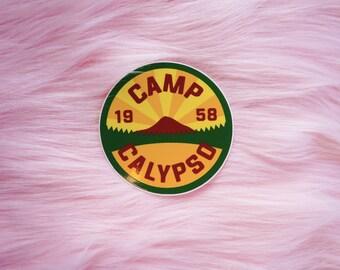 CAMP CALYPSO (2020) Camp Logo Sticker