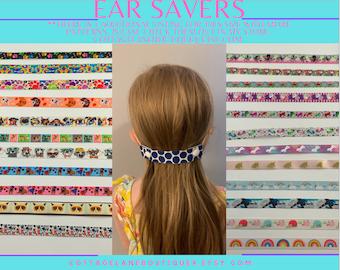 Ear Saver for Kids, Mask Extender for Kids, Lanyard to hold Masks, Comfy Ear Saver