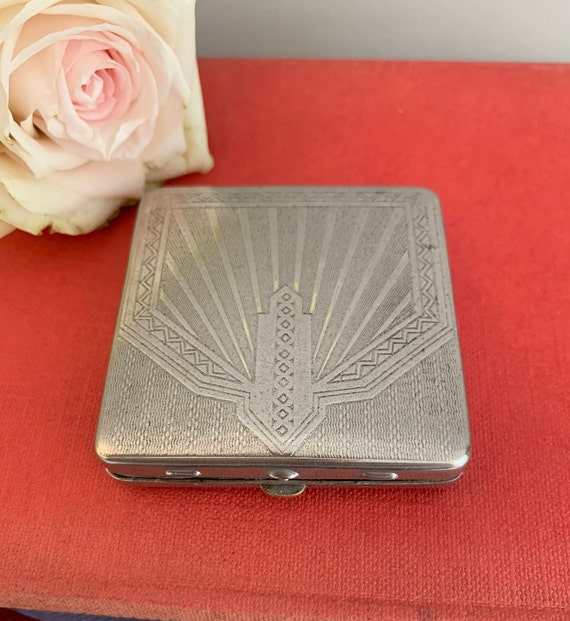 Vintage Dubarry Loose Powder Always Handy Art Deco