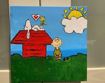 Acrylic Kids room decorative paintings on canvas